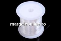 Guta, alb transparent, 0.4mm