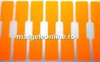 Etichete pentru bijuterii, portocaliu - x20buc