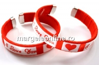 Bratara martisor, I love you - x1