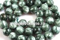 Seraphinite, round, 10mm