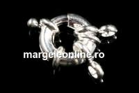 Incuietoare decorativa, placata cu argint, 23mm - x1