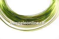 Sarma din cupru, verde lime, 0.50mm - 15m