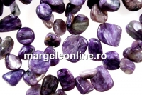 Charoite, free form nugget, 12-14mm