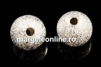Margele decor praf de stele, rotund, 8mm - x20