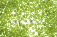 Miyuki - margele Delica® opaque rainbow yellow-green
