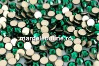 Swarovski, rhinestone ss7, emerald, 2.2mm - x20