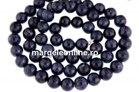 Sapphire, natural stone, blue, round, 6mm