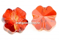Swarovski, trifoi, red magma, 8mm - x2