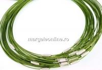 Baza colier, verde oliv  - x3