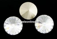 Swarovski, rivoli, crystal, 12mm - x2