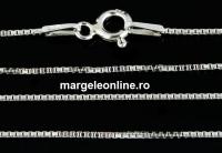 Lant argint 925, model zar, 42cm - x1