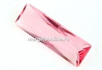 Swarovski, rivoli cabochon, light rose, 24x8mm - x1