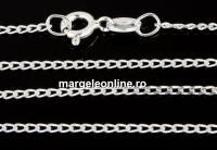 Lant, argint 925, 1.4mm, 55cm - x1