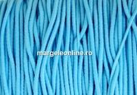 Snur elastic circular, turcoaz, 1.4mm - x 13m