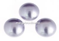 Swarovski, cabochon perla cristal, lavender, 6mm - x2
