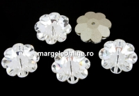 Swarovski, marguerite flower, crystal F, 14mm - x2