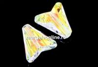 Swarovski, margele Arrow, aurore boreale, 12mm - x2