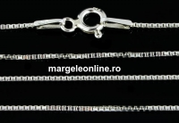 Lant argint 925, model zar, 55cm - x1
