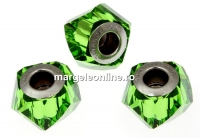 Swarovski, becharmed helix fern green, 14mm - x1