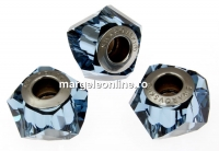 Swarovski, becharmed helix denim blue, 14mm - x1