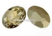 Swarovski, rivoli cabochon silver shade, 30mm - x1