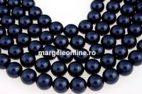 Perle Swarovski, night blue, 5mm - x100
