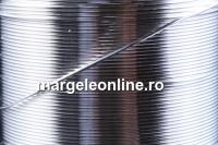 Sarma argint 925, dura, 0.5mm - x1m