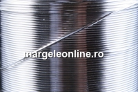Sarma argint 925, dura, 0.6mm - x1m