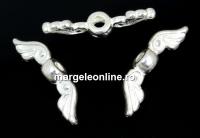 Accesoriu décor aripi de ingeras argint 925, 18mm - x1