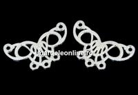 Chandelier fluture filigranat argint 925, 19.5mm - x1