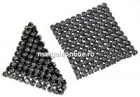 Swarovski Crystal mesh, silver night, 3.2x3.2cm - x1
