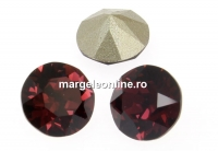 Swarovski, chaton SS34, burgundy, 7mm - x2