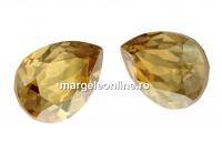 Swarovski, fancy picatura, golden shadow, 8x6mm - x2