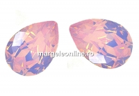 Swarovski, fancy picatura, rose water opal, 8x6mm - x2