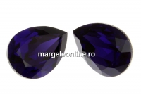 Swarovski, fancy picatura, purple velvet, 8x6mm - x2