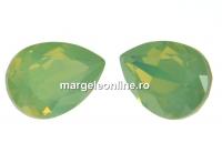 Swarovski, fancy picatura, chrysolite opal, 8x6mm - x2