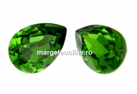 Swarovski, fancy picatura, fern green, 8x6mm - x2