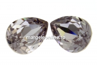 Swarovski, fancy picatura, smoky mauve, 14x10mm - x1