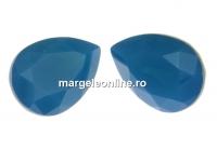 Swarovski, fancy picatura, caribbean blue opal, 14x10mm - x1