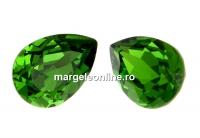 Swarovski, fancy picatura, fern green, 14x10mm - x1