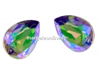 Swarovski, fancy picatura, paradise shine, 14x10mm - x1