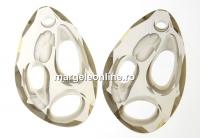 Swarovski, pandantiv Radiolarian, silver shade, 34mm - x1