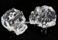 Swarovski, margele Panther crystal, 14mm - x1