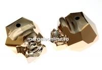 Swarovski, margele Panther rose gold 2x, 19mm - x1
