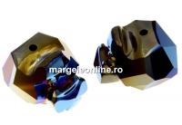 Swarovski, margele Panther metallic blue 2x, 19mm - x1