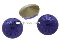 Swarovski, fancy rivoli Sea urchin, tanzanite, 14mm - x1