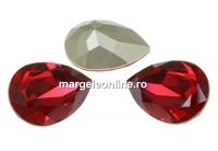 Swarovski, fancy picatura, scarlet, 10x7mm - x1