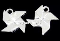 Pandantiv morisca argint 925, 13mm  - x1
