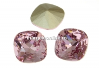 Swarovski, fancy square, light amethyst, 12mm - x1
