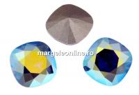 Swarovski, fancy square, tanzanite aurore boreale , 12mm - x1